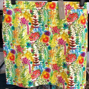 J. Crew Liberty Art Fabric Skirt